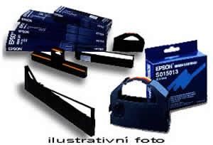 Epson Blk Ribbon Cartridge for LX-350/LX-300/+/+II