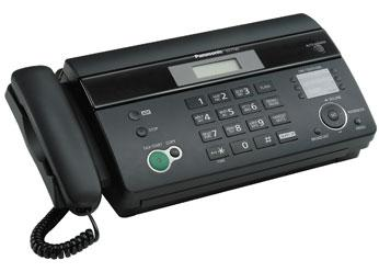 Panasonic KX-FT982FX-B, termální fax/tel., černý