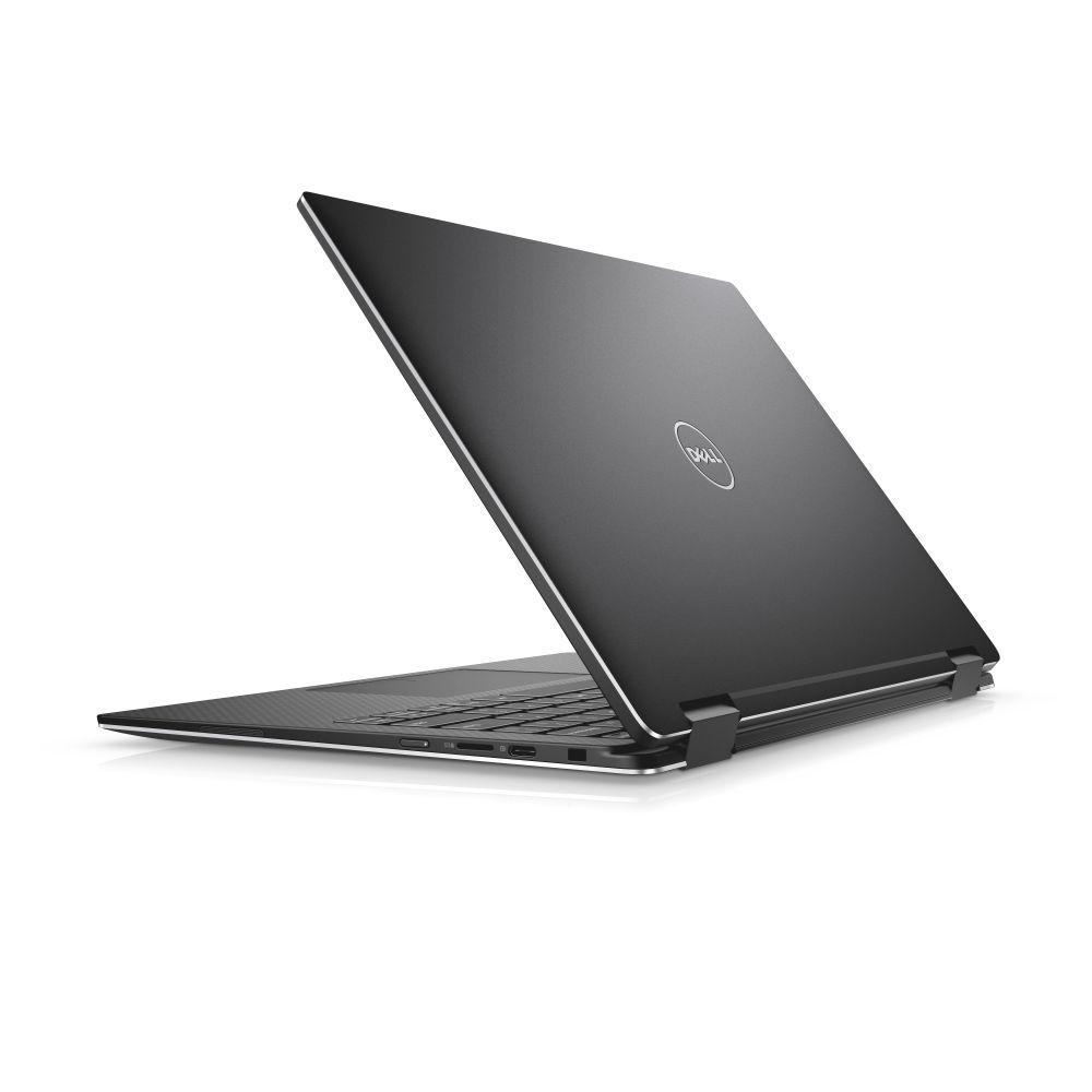 """Dell XPS 13 9365 13"""" FHD Touch i5-7Y57/8G/256GB SSD/THB/USB-C/MCR/FPR/W10/2RNBD/Černý"""