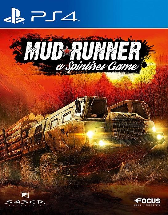 PS4 - Spintires: MudRunner