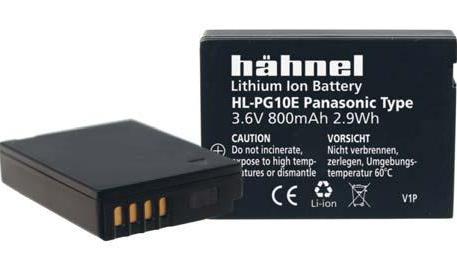 Hähnel HL-PG10E - Panasonic DMW-BCG10E 3.6V 820mAh 3Wh