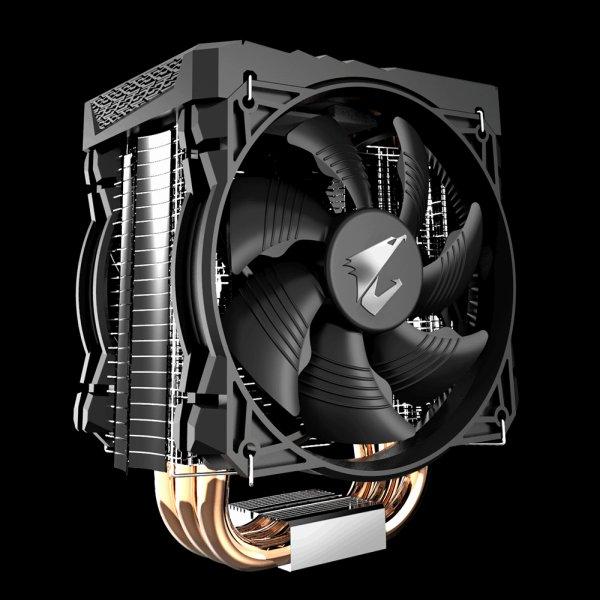 GIGABYTE chladič CPU cooler ATC700, RGB Ligthing