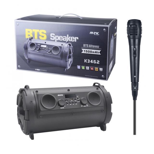 Aligator Speaker PLUS 3462, s mikrofonem, LED, černý