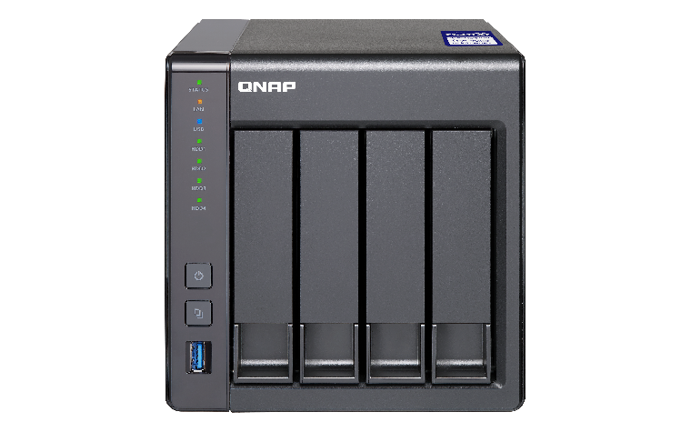 QNAP TS-431X2-8G (1,7GHz/8GB RAM/4xSATA/1xSFP+)