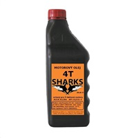 SHARKS Olej pro 4-taktní motory 4T