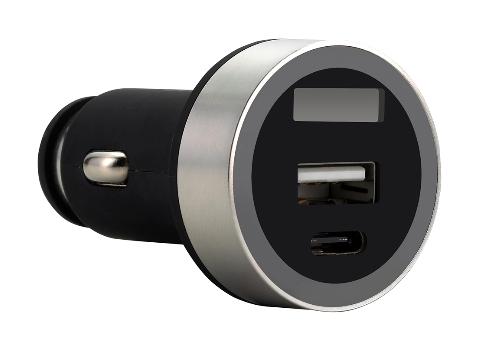 FSP/Fortron Micro CLA USB autonabíječka Shining VD16, 3.1 A, USB*1 & Type-C*1 (pro osobní i náklad.)