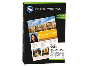 HP CR712AE Ink Cart 951XL Value Pack A4,75ks,210 x 297 mm