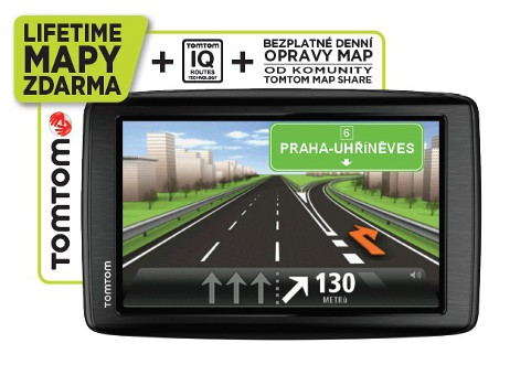 TomTom START 25 Regional CEE LIFETIME mapy