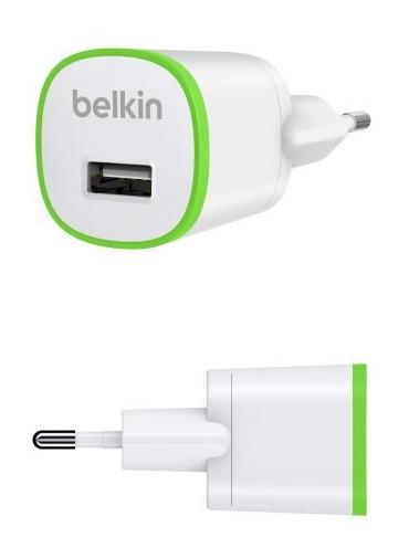 Belkin USB 230V micro nabíječka, 5V/1A, bílá