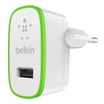 Belkin USB 230V nabíječka, 5V/2.1A, bílá