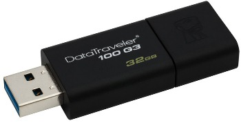 KINGSTON 32GB USB 3.0 DataTraveler 100 Gen3