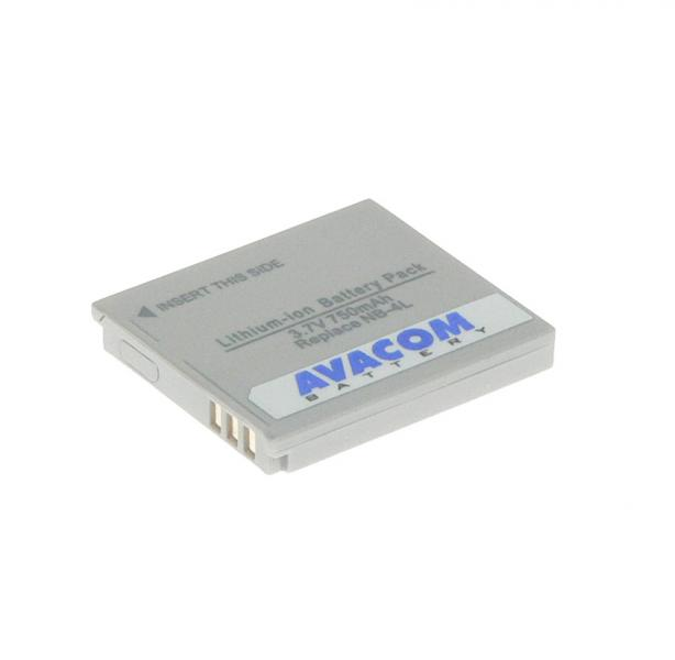 Baterie AVACOM Canon NB-4L Li-Ion 3.7V 750mAh