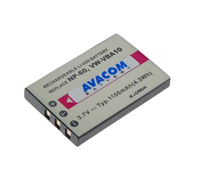 Baterie AVACOM Fujifilm NP-60 Li-Ion 3.7V 1150mAh