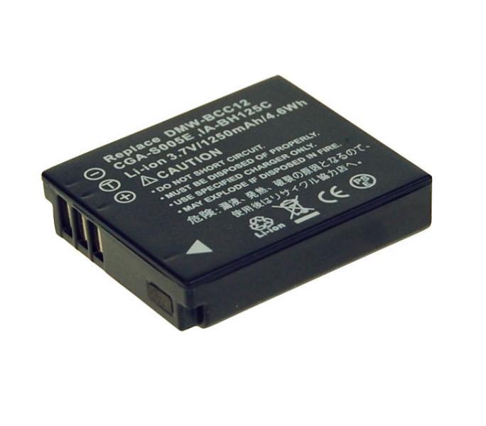 Náhradní baterie AVACOM Panasonic CGA-S005, Samsung IA-BH125C, Ricoh DB-60, Fujifilm NP-70 Li-ion 3.7V 1110mAh 4.3Wh NEW