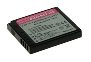 Náhradní baterie AVACOM Panasonic CGA-S106E, DMW-BCF10 Li-ion 3.6V 800mAh 2.9Wh verze 2011