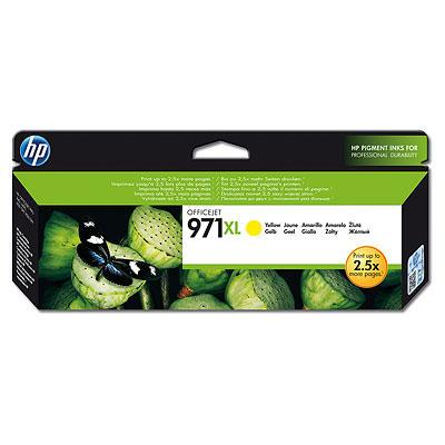 HP CN628AE Ink Cart No.971XL pro OJ Pro X451,X551dw,X476/X576dw, 6600str., Yellow