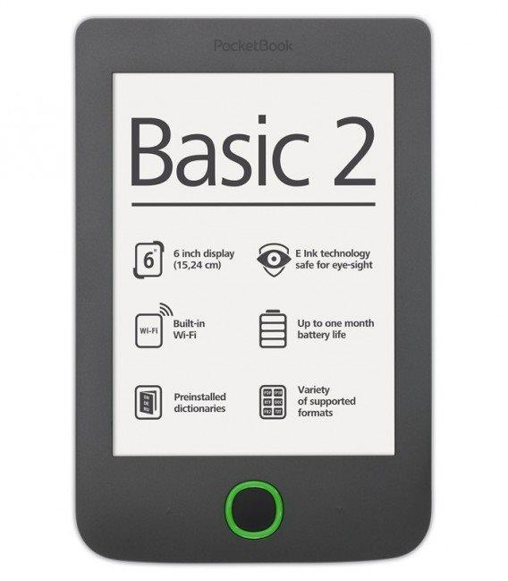 PocketBook 614+ Basic 3 Black