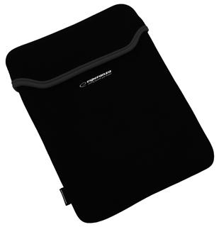 Esperanza ET173K Pouzdro pro tablet 10.1'' (16:9), 3mm neoprén, černo-černo