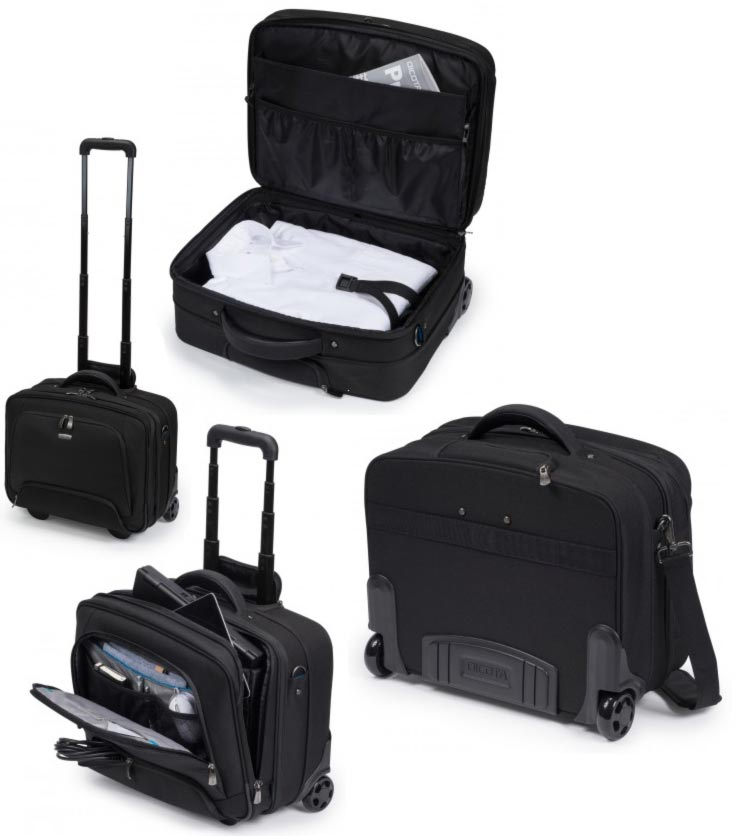 Dicota Multi Roller PRO 13 - 15.6 Trolley case for notebook and clothes