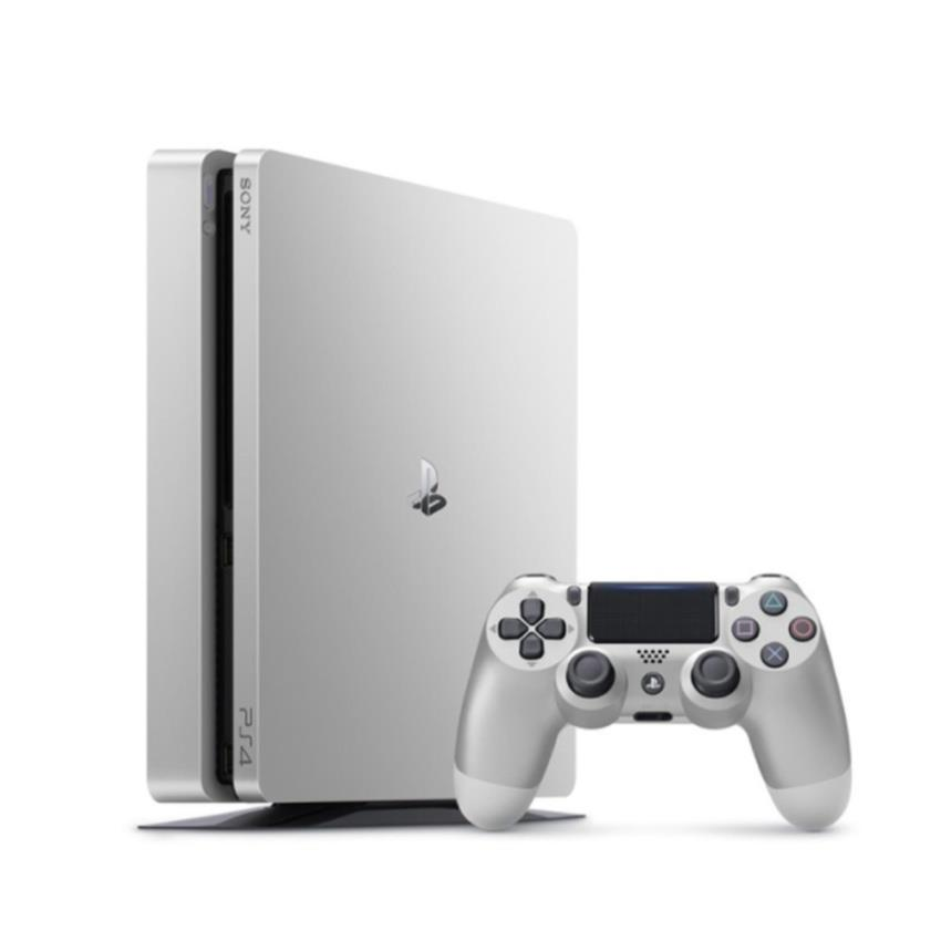 PS4 500GB Slim Silver + 2nd Controller Silver DS4
