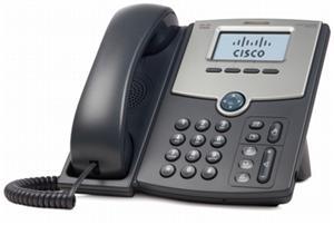 Cisco SPA512G - IP telefon, 1 linka, Gigabit Port, PoE, LCD displej