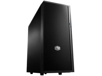 CoolerMaster case miditower Centurion Silencio 452, ATX,black, USB3.0, SD čtečka, bez zdroje, odhlučněný