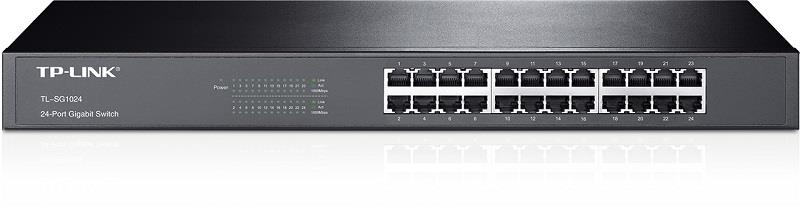 "TP-Link TL-SG1024 19"" Switch 24x10/100/1000Mbps"
