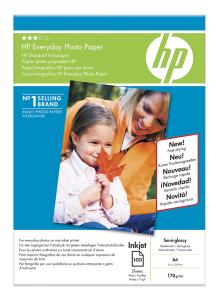 HP Everyday Photo,A4, lesk, 200g, 100 ks