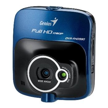 """Genius digitální kamera do auta DVR-FHD590/ Full HD, 2.4"""" LCD, až 32 GB micro SDHC"""