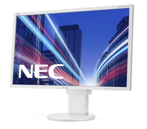 """NEC 27"""" EA273WMi - 1920x1080, IPS, W-LED, 250cd, D-sub, DVI, DP, HDMI, USB, Repro, bílý"""