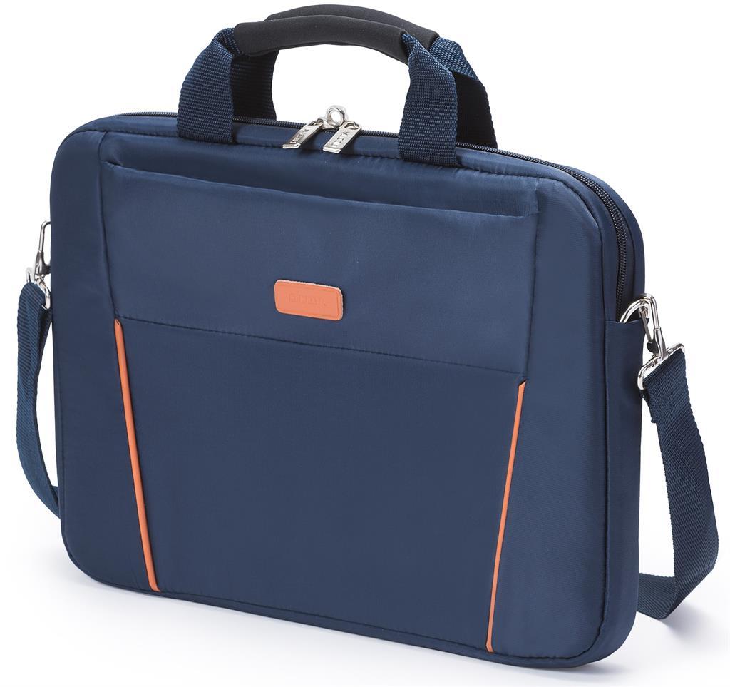 Dicota Slim Case Base 12 - 13.3 modro-oranžová brašna na notebook