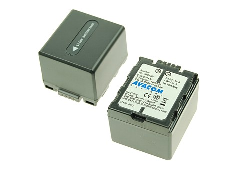 Náhradní baterie AVACOM Panasonic CGA-DU14/CGR-DU14/ VW-VBD14, Hitachi DZ-BP14S Li-ion 7.2V 1500mAh 10.8Wh černá
