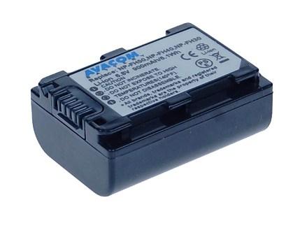 Náhradní baterie AVACOM Sony NP-FH30, FH40, FH50 Li-ion 6.8V 900mAh 6.1Wh
