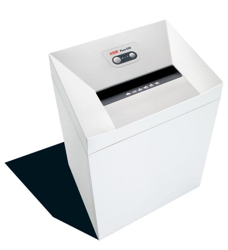 HSM Pure 530 - strips 5,8mm/ 25-27 sheets 80 g/ 80 l bin/ DIN 2