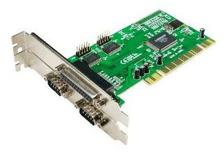 LOGILINK - Kontroler PCI 1x paralelní port + 2x sériový port