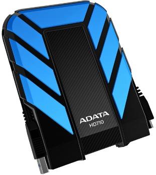 ADATA HD710 DashDrive™ Durable 1TB ext. HDD, USB3.0, water/shock proof, modrý
