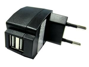 A-link Charger 2xUSB, 2A, wall, PC2U2AEC
