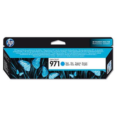 HP CN622AE Ink Cart No.971 pro OJ Pro X451,X551dw,X476/X576dw, 2500str., Cyan