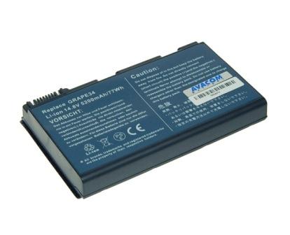Náhradní baterie AVACOM Acer TM5310/5720, Extensa 5220/5620 Li-ion 14,8V 5200mAh/77Wh