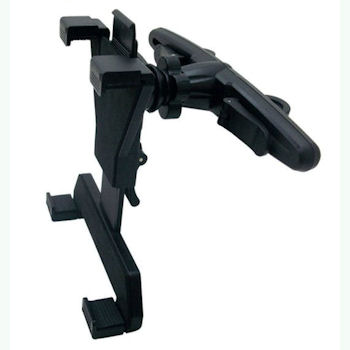 Qoltec Nastavitelný držák do auta na opěrku hlavy pro tablet 7-10.1''