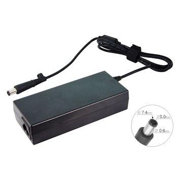 Qoltec Adaptér pro notebooky HP Compaq 90W | 19V | 4.74 A | 7.4x5.0