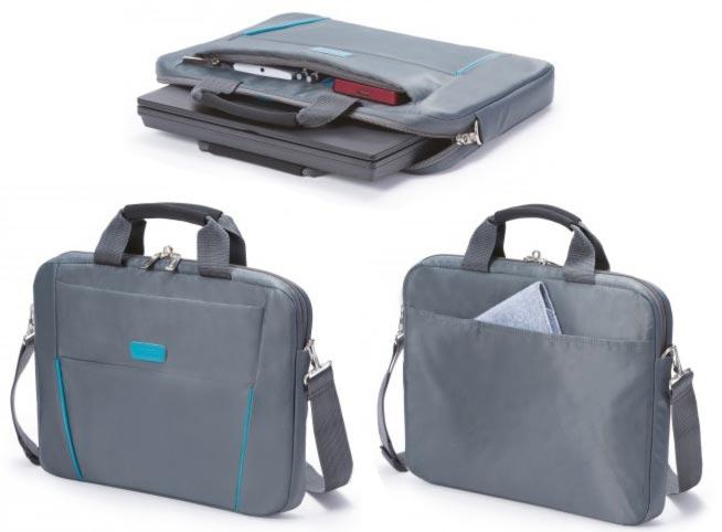 Dicota Slim Case Base 14 - 15.6 šedomodrá brašna na notebook