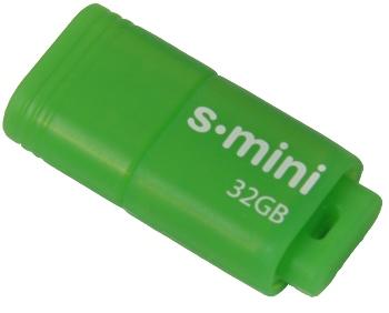 32GB Patriot S-mini USB 3.0 zelený (až 80MB/s)