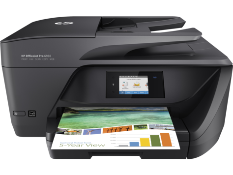 HP Officejet Pro 6960 WiFi MFP