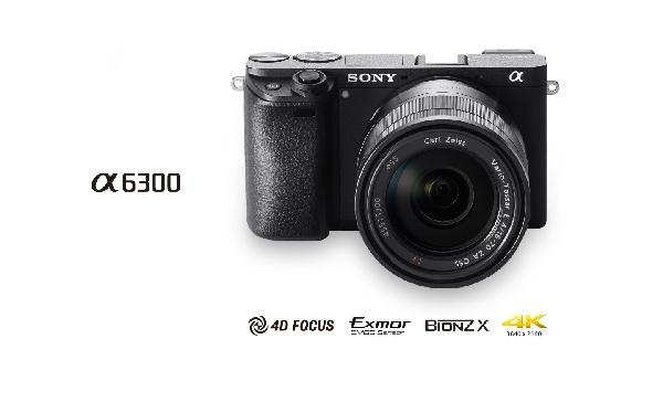 SONY ILCE-6300 Fotoaparát Alfa 6300 s bajonetem E + 16–50mm objektiv