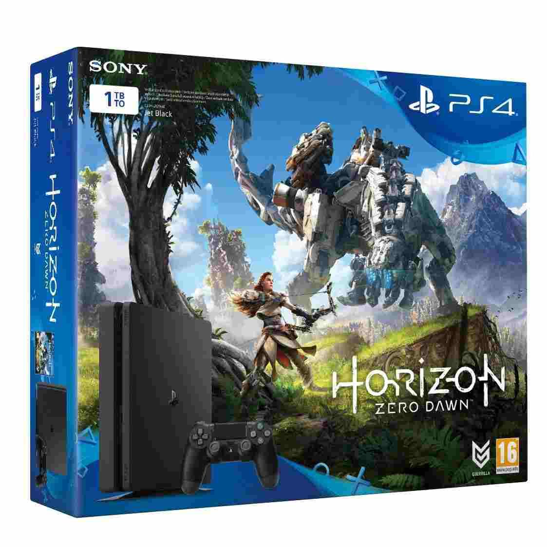 SONY PlayStation 4 Slim - 1TB + Horizon: Zero Dawn