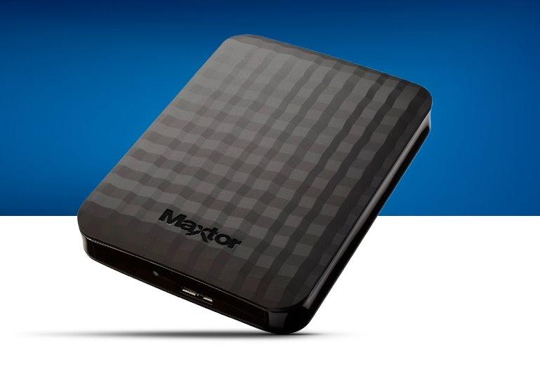 "Maxtor M3 Portable, 500GB externí HDD, 2.5"", USB 3.0, černý"