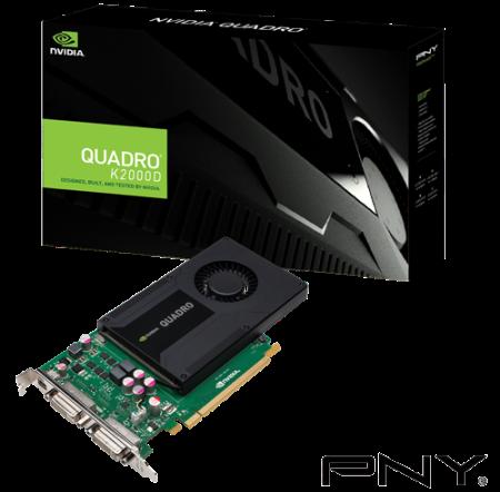 PNY Quadro K2000D 2GB (128) 2xDVI 1xmDP (3 roky záruka)