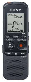 Sony dig. diktafon ICD-PX333,černý,4GB,USB,mSD