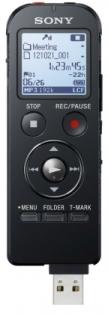 Sony dig. diktafon ICD-UX533B,černý,4GB,USB,mSD